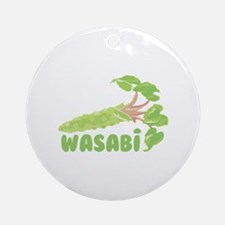Wasabi Vegetable Ornament (Round)