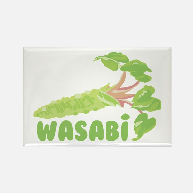 Wasabi Vegetable Magnets
