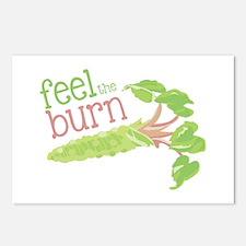 Feel the Burn Postcards (Package of 8)