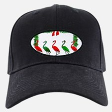 Cute Tropical christmas Baseball Hat