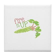Fire It Up Tile Coaster