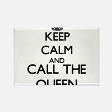 Keep calm and call the Queen Magnets