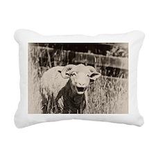 Cute Sheep Rectangular Canvas Pillow