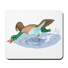 Duck In Water Mousepad