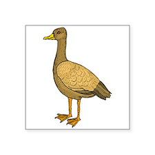 Brown Duck Sticker