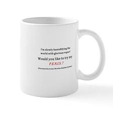 Vaping PENIS Mugs