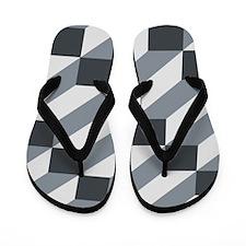 3D Optical illusion Flip Flops