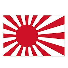 Naval Ensign of Japan Postcards (Package of 8)