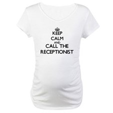 Keep calm and call the Receptionist Shirt