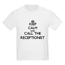 Keep calm and call the Receptionist T-Shirt