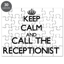 Cute Receptionist Puzzle