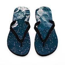 Cute Space Flip Flops
