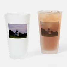Unique Pebble beach california Drinking Glass