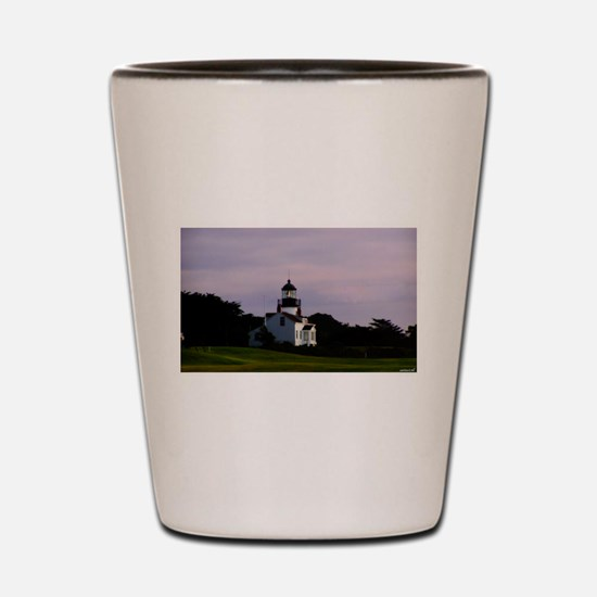 Cool Pebble beach california Shot Glass