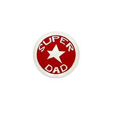 SUPER DAD Mini Button (10 pack)