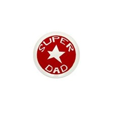 SUPER DAD Mini Button