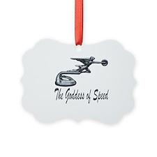 Goddess of Speed Ornament
