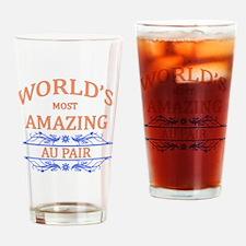 Au Pair Drinking Glass