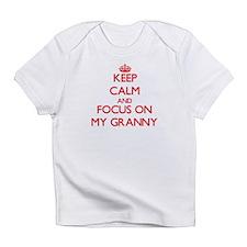 Cute I heart my grannie Infant T-Shirt