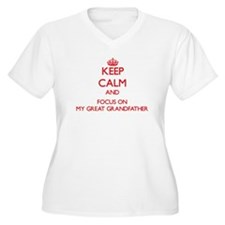 Keep Calm and focus on My Great Grandfather Plus S