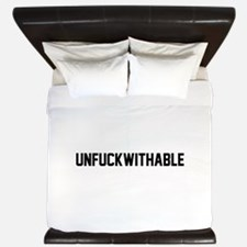 UNFUCKWITHABLE King Duvet
