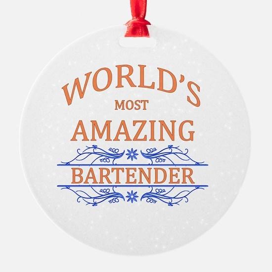 Bartender Ornament