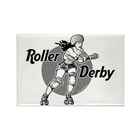 Roller Derby @ eShirtLabs.Com Rectangle Magnet (10