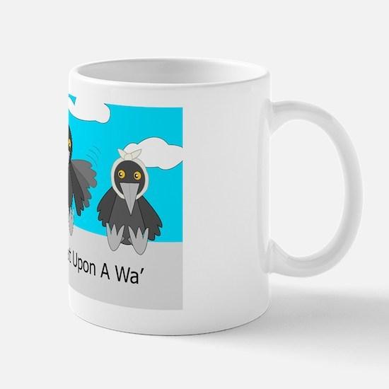 Three Craws Sat Upon A Wa' Mug