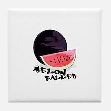 Melon Baller Tile Coaster