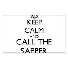 Keep calm and call the Sapper Decal