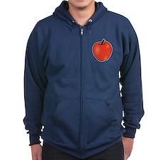 Apple Zip Hoodie