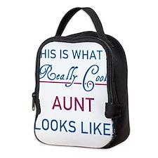 Unique I love my auntie Neoprene Lunch Bag