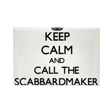 Keep calm and call the Scabbardmaker Magnets