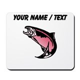 Custom pink trout Classic Mousepad