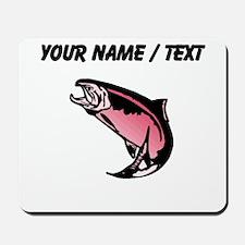 Custom Pink Trout Mousepad