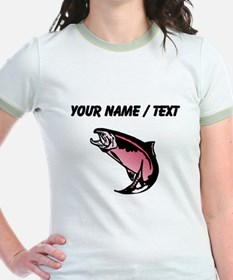 Custom Pink Trout T-Shirt