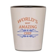 Chef Shot Glass