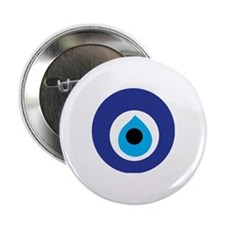 "Turkish Eye (Evil Eye) 2.25"" Button"