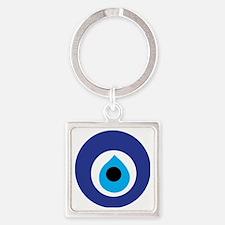 Turkish Eye (Evil Eye) Square Keychain