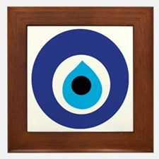 Turkish Eye (Evil Eye) Framed Tile