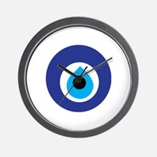 Turkish Eye (Evil Eye) Wall Clock