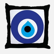 Turkish Eye (Evil Eye) Throw Pillow