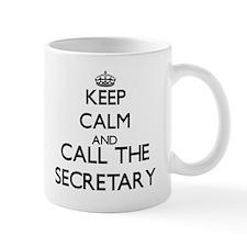 Keep calm and call the Secretary Mugs