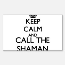Keep calm and call the Shaman Decal