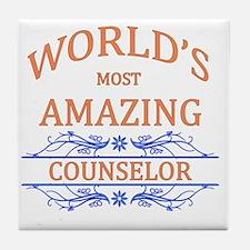 Counselor Tile Coaster