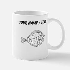 Custom Flounder Fish Mugs