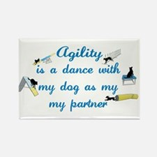 Agility Dance Rectangle Magnet