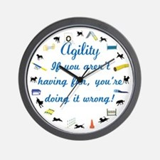 Agility Dance Wall Clock