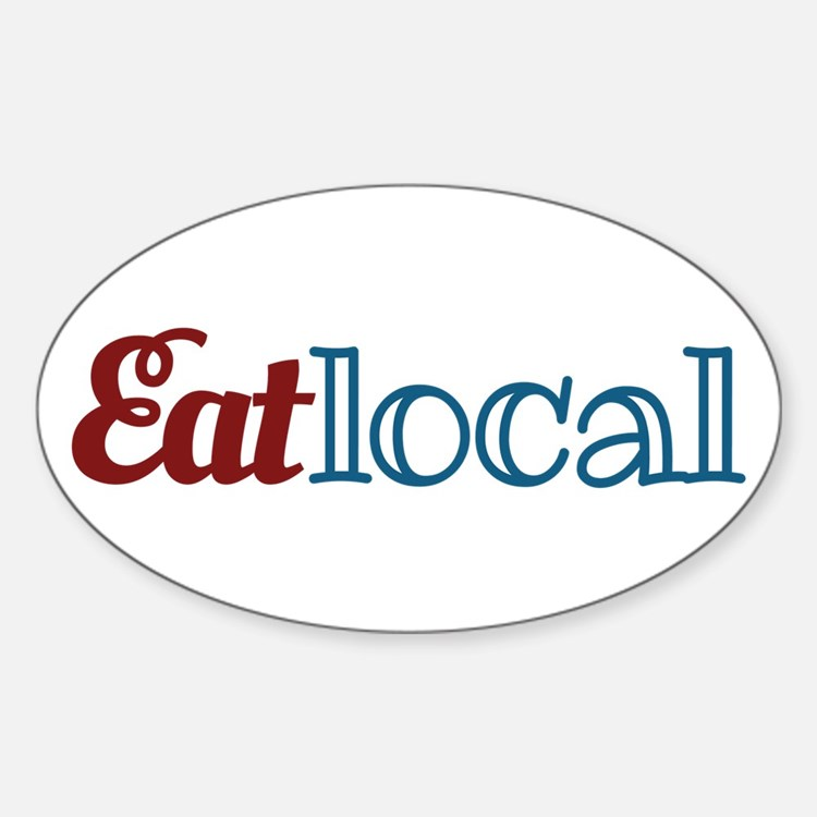 Eat Local Decal