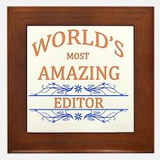 Editor Framed Tile